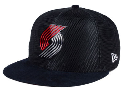 Portland Trail Blazers New Era NBA On-Court Collection Draft 9FIFTY Snapback Cap