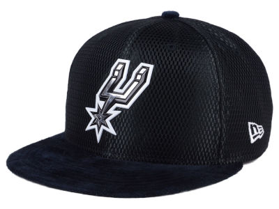 San Antonio Spurs New Era NBA On-Court Collection Draft 9FIFTY Snapback Cap