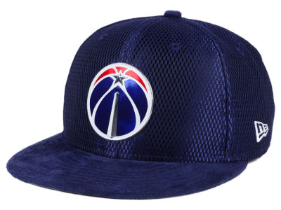 Washington Wizards New Era NBA On-Court Collection Draft 9FIFTY Snapback Cap
