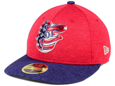 Baltimore Orioles New Era 2017 MLB Low Profile Stars & Stripes 59FIFTY Cap