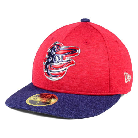 Baltimore Orioles New Era 2017 MLB Low Profile Stars & Stripes 59FIFTY Cap