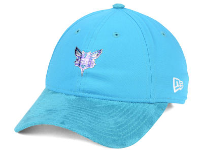 Charlotte Hornets New Era NBA On-Court Collection Draft 9TWENTY Cap
