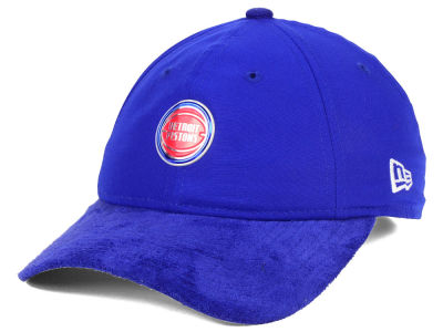 Detroit Pistons New Era NBA On-Court Collection 9TWENTY Cap