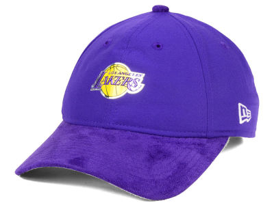 Los Angeles Lakers New Era NBA On-Court Collection Draft 9TWENTY Cap