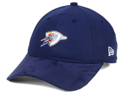 Oklahoma City Thunder New Era NBA On-Court Collection Draft 9TWENTY Cap