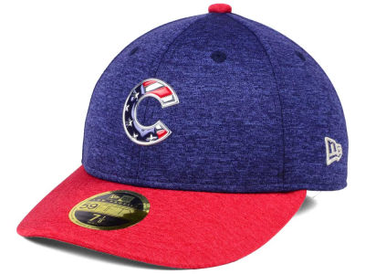Chicago Cubs New Era 2017 MLB Low Profile Stars & Stripes 59FIFTY Cap