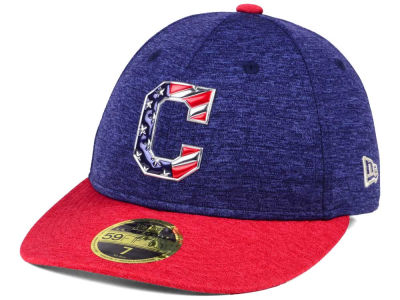 Cleveland Indians New Era 2017 MLB Low Profile Stars & Stripes 59FIFTY Cap