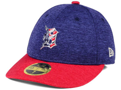 Detroit Tigers New Era 2017 MLB Low Profile Stars & Stripes 59FIFTY Cap