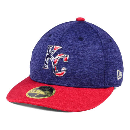 Kansas City Royals New Era 2017 MLB Low Profile Stars & Stripes 59FIFTY Cap