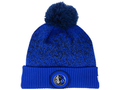 Dallas Mavericks New Era NBA On-Court Collection Pom Knit