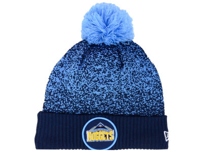 Denver Nuggets New Era NBA On-Court Collection Pom Knit