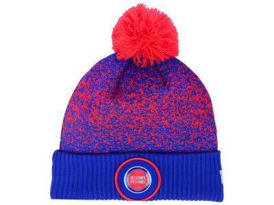 Detroit Pistons New Era NBA On-Court Collection Pom Knit