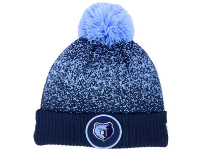 Memphis Grizzlies New Era NBA On-Court Collection Pom Knit