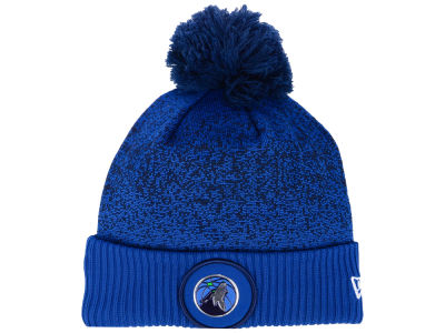 Minnesota Timberwolves New Era NBA On-Court Collection Pom Knit