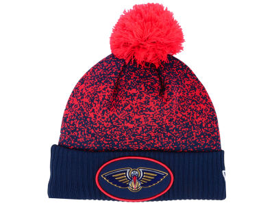 New Orleans Pelicans New Era NBA On-Court Collection Pom Knit