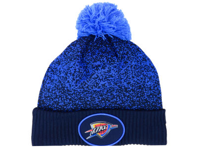 Oklahoma City Thunder New Era NBA On-Court Collection Pom Knit