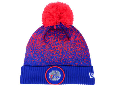 Philadelphia 76ers New Era NBA On-Court Collection Pom Knit