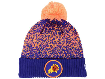 Phoenix Suns New Era NBA On-Court Collection Pom Knit