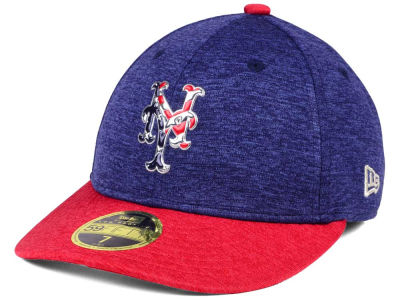 New York Mets New Era 2017 MLB Low Profile Stars & Stripes 59FIFTY Cap