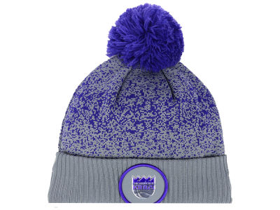 Sacramento Kings New Era NBA On-Court Collection Pom Knit