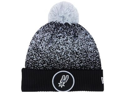 San Antonio Spurs New Era NBA On-Court Collection Pom Knit