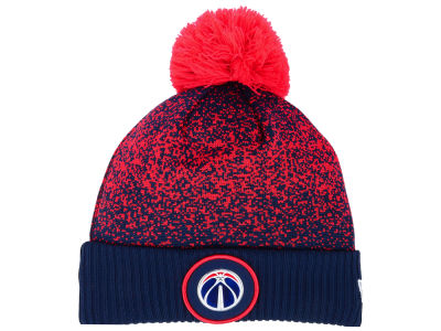 Washington Wizards New Era NBA On-Court Collection Pom Knit