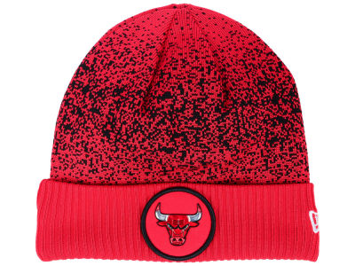 Chicago Bulls New Era NBA On Court Collection Cuff Knit