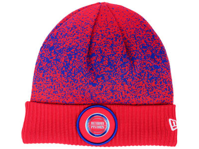 Detroit Pistons New Era NBA On Court Collection Cuff Knit