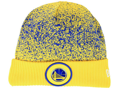 Golden State Warriors New Era NBA On Court Collection Cuff Knit