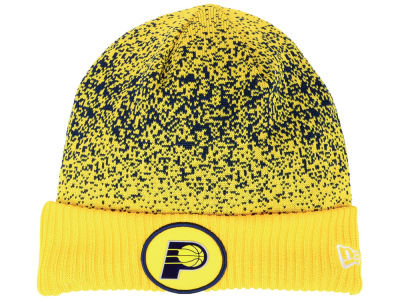 Indiana Pacers New Era NBA On Court Collection Cuff Knit