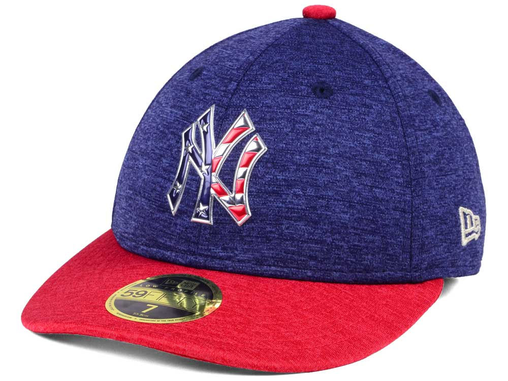 New York Yankees New Era 2017 MLB Low Profile Stars   Stripes 59FIFTY Cap  b884a64f980