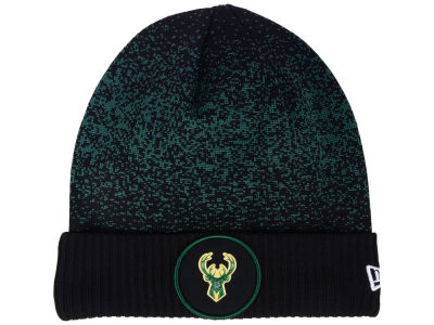 Milwaukee Bucks New Era NBA On Court Collection Cuff Knit