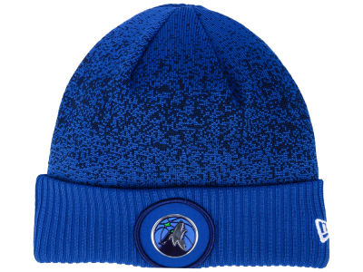 Minnesota Timberwolves New Era NBA On Court Collection Cuff Knit