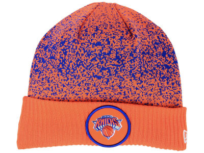 new concept 1fae9 89fcc New York Knicks New Era NBA On Court Collection Cuff Knit