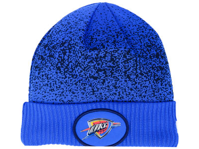 Oklahoma City Thunder New Era NBA On Court Collection Cuff Knit