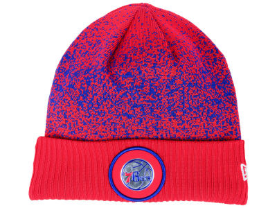 Philadelphia 76ers New Era NBA On Court Collection Cuff Knit