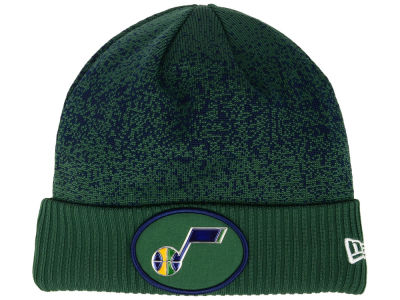Utah Jazz New Era NBA On Court Collection Cuff Knit