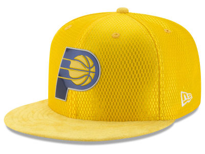 Indiana Pacers New Era NBA On-Court Reverse Collection 59FIFTY Cap