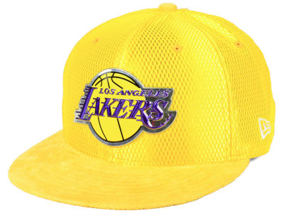 Los Angeles Lakers New Era NBA On-Court Reverse Collection 59FIFTY Cap