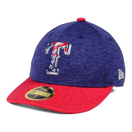 Texas Rangers New Era 2017 MLB Low Profile Stars & Stripes 59FIFTY Cap