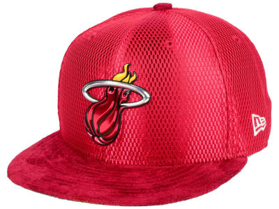 Miami Heat New Era NBA On-Court Reverse Collection 59FIFTY Cap