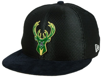 Milwaukee Bucks New Era NBA On-Court Reverse Collection 59FIFTY Cap