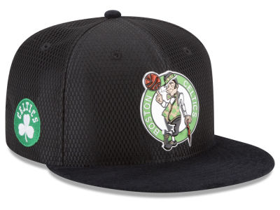 Boston Celtics New Era 2017 NBA On Court Reverse 9FIFTY Snapback Cap