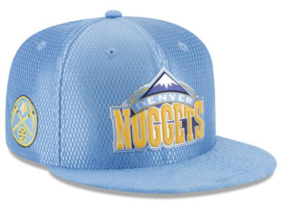 Denver Nuggets New Era 2017 NBA On Court Reverse 9FIFTY Snapback Cap