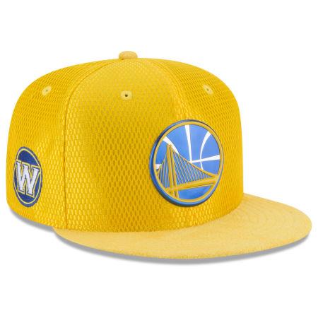Golden State Warriors New Era 2017 NBA On Court Reverse 9FIFTY Snapback Cap