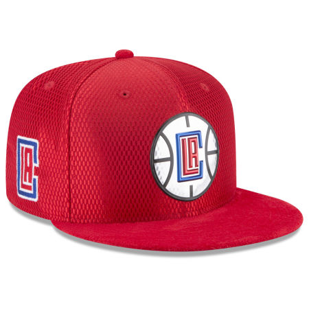 Los Angeles Clippers New Era 2017 NBA On Court Reverse 9FIFTY Snapback Cap