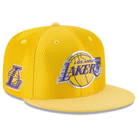 Los Angeles Lakers New Era 2017 NBA On Court Reverse 9FIFTY Snapback Cap