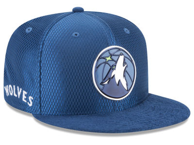 Minnesota Timberwolves New Era 2017 NBA On Court Reverse 9FIFTY Snapback Cap