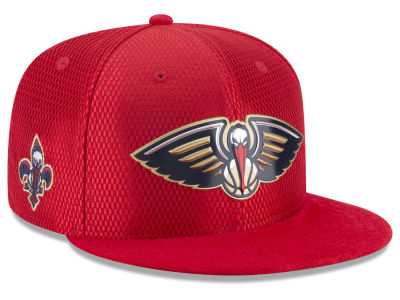 New Orleans Pelicans New Era 2017 NBA On Court Reverse 9FIFTY Snapback Cap