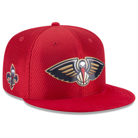 New Orleans Pelicans New Era 2017 NBA On Court Reverse 9FIFTY Snapback Cap